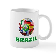 Brazil Soccer Mugs