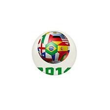 2014 Soccer Brazil Mini Button