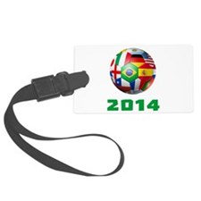 2014 Soccer Brazil Luggage Tag