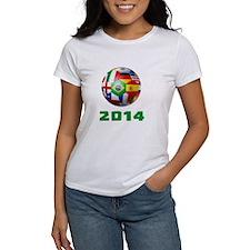 2014 Soccer Brazil T-Shirt