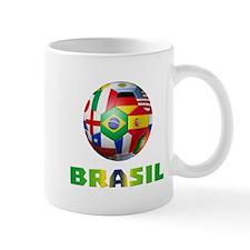 Brasil Futebol Mugs