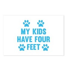 My Kids Have Four Feet Postcards (Package of 8)