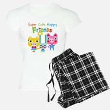 Super Cute Happy Friends Pajamas