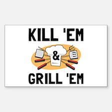 Kill Grill Decal