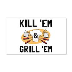 Kill Grill Wall Decal