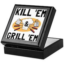 Kill Grill Keepsake Box