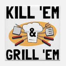 Kill Grill Tile Coaster