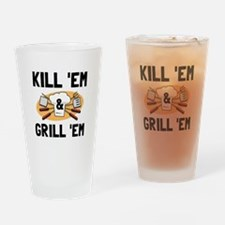 Kill Grill Drinking Glass