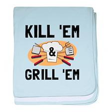 Kill Grill baby blanket