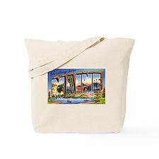 Maine Greetings Tote Bag