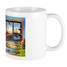 Maine Greetings Mug