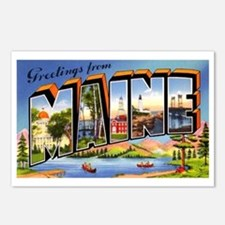 Maine Greetings Postcards (Package of 8)