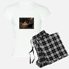 Lady Of Shalott Pajamas