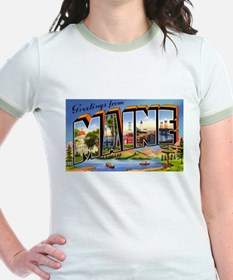 Maine Greetings (Front) T