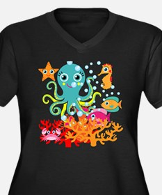 Welcome to the Ocean Plus Size T-Shirt