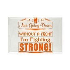 Leukemia Fighting Stron Rectangle Magnet (10 pack)