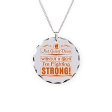 Leukemia Fighting Strong Necklace