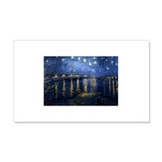 Starry Night Over Rhone Wall Decal