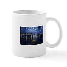 Starry Night Over Rhone Mugs