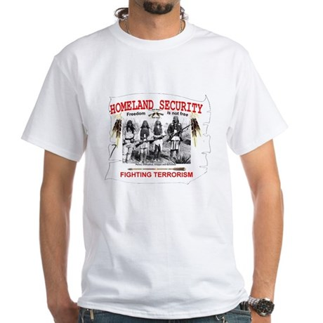 Homeland Security White T-Shirt