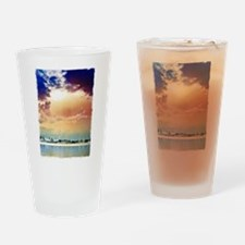 Cloudscape fist Drinking Glass