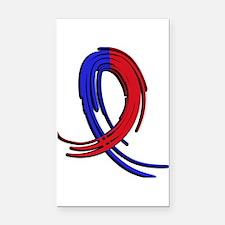 CHD GraffitiRibbon2 Rectangle Car Magnet
