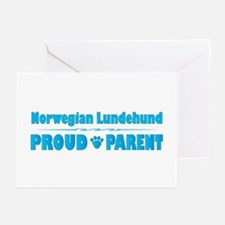 Lundehund Parent Greeting Cards (Pk of 10)