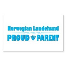 Lundehund Parent Rectangle Decal