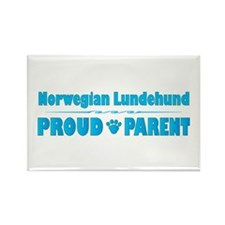 Lundehund Parent Rectangle Magnet (100 pack)