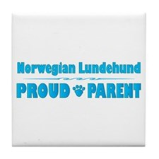 Lundehund Parent Tile Coaster