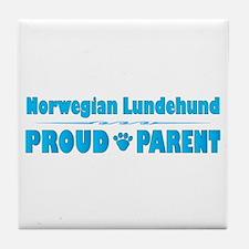 Lundehund Parent Tile Coaster