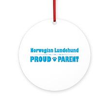 Lundehund Parent Ornament (Round)