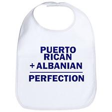 Albanian + Puerto Rican Bib