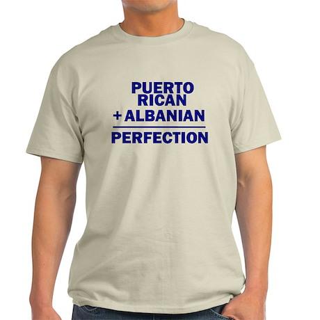 Albanian + Puerto Rican Light T-Shirt