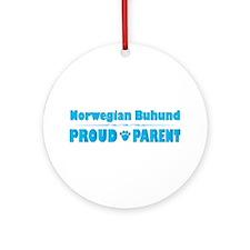 Buhund Parent Ornament (Round)