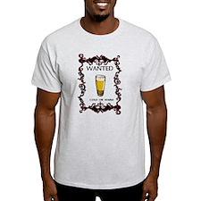 Beer Wanted - T-Shirt - T-Shirt