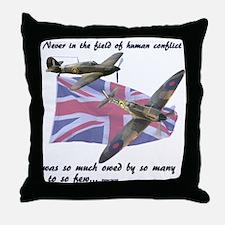 Battle of Britain Throw Pillow