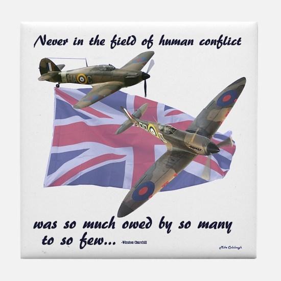 Battle of Britain Tile Coaster