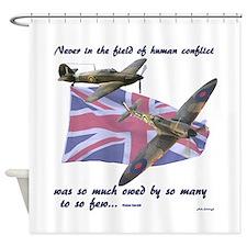Battle of Britain Shower Curtain