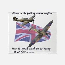 Battle of Britain Throw Blanket