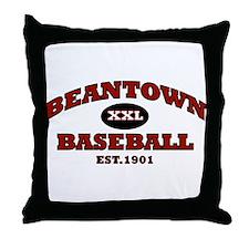 Beantown Baseball Throw Pillow