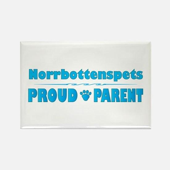Norrbottenspets Parent Rectangle Magnet (100 pack)