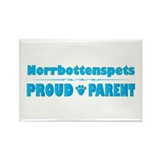 Norrbottenspets Parent Rectangle Magnet