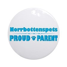 Norrbottenspets Parent Ornament (Round)