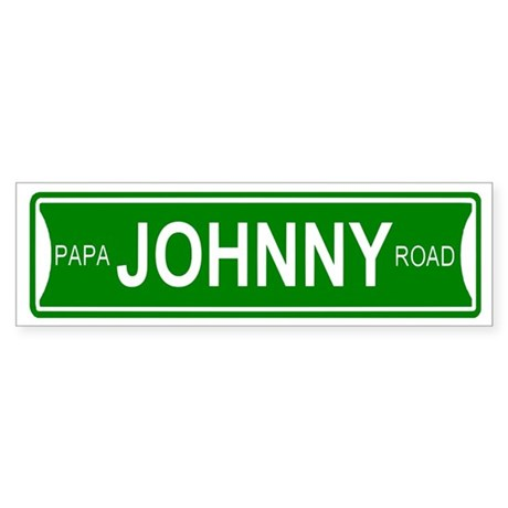 Papa Johnny Road Bumper Sticker