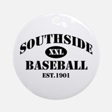 Southside Baseball Ornament (Round)