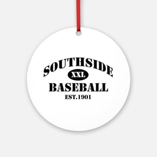 Southside Baseball Ornament (Round)