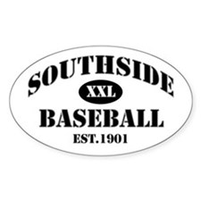 Southside Baseball Oval Decal