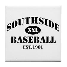 Southside Baseball Tile Coaster
