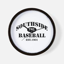 Southside Baseball Wall Clock